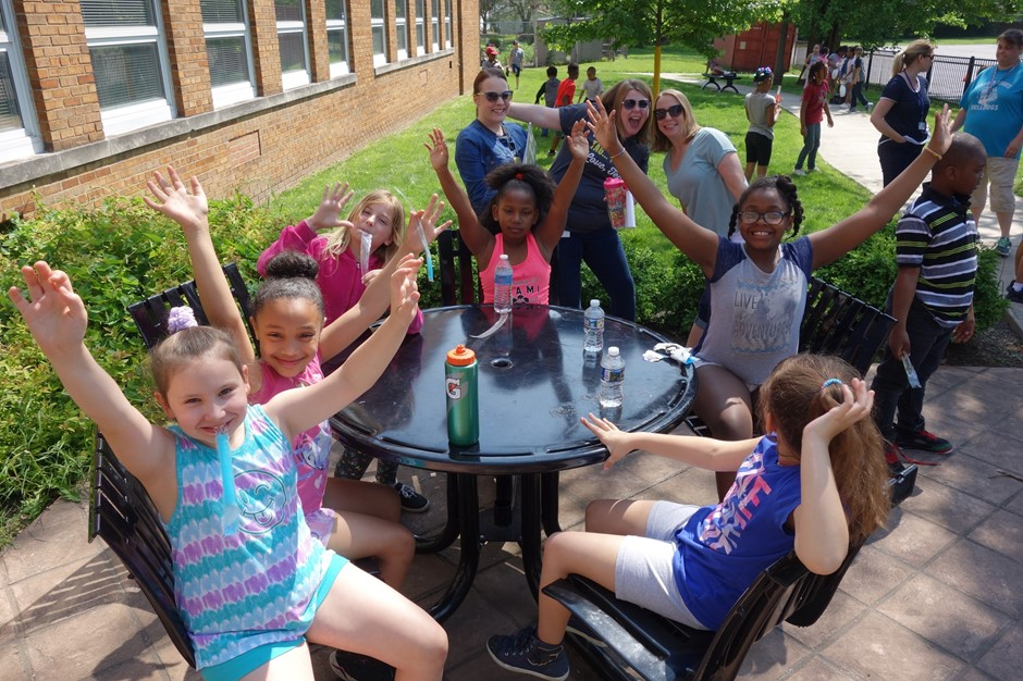 Students at Elmwood enjoyed Field Day on the last day of school.