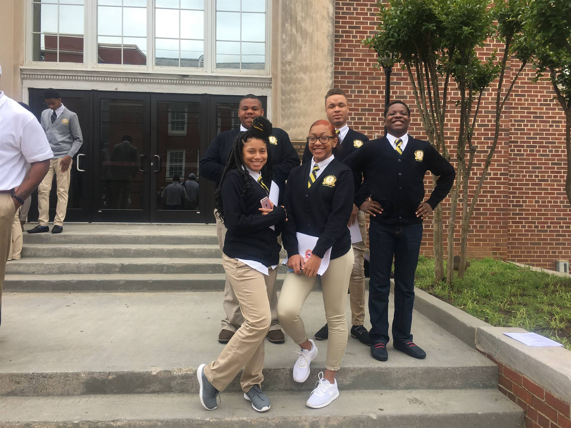 Students of Promise Spring College Tour 2018