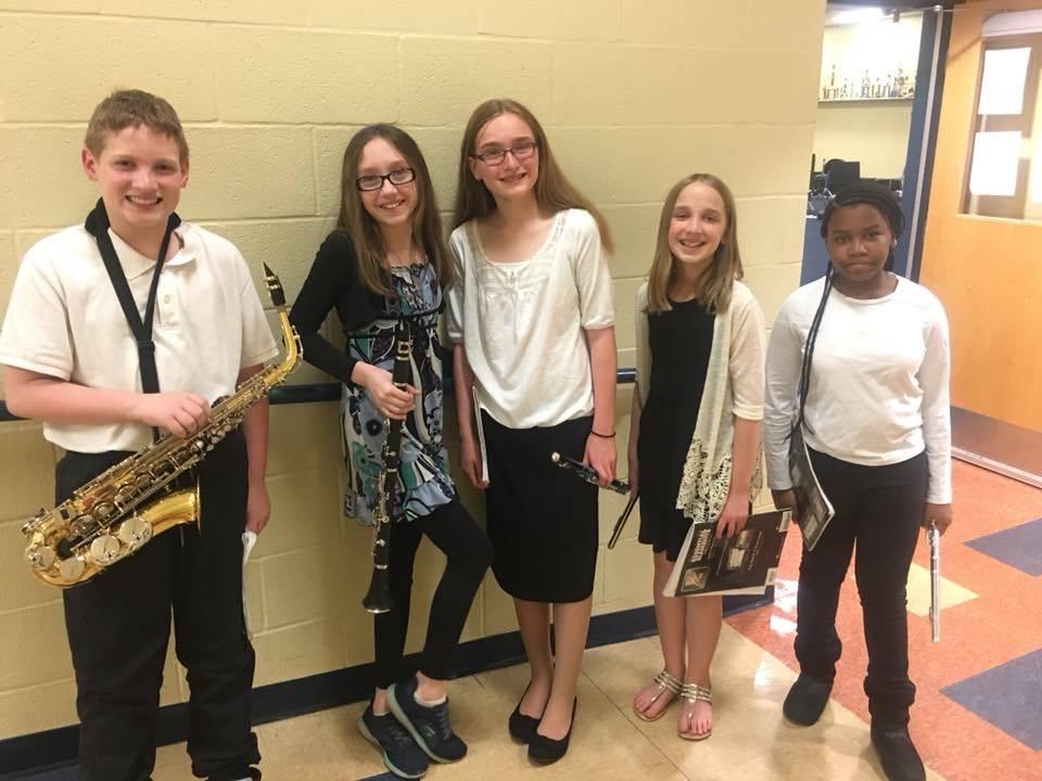 Maple Leaf 5th Grade Band