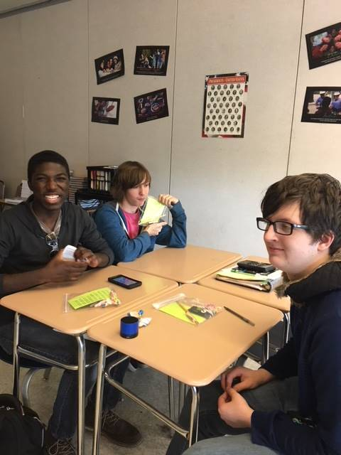 students preparing for AP Government test
