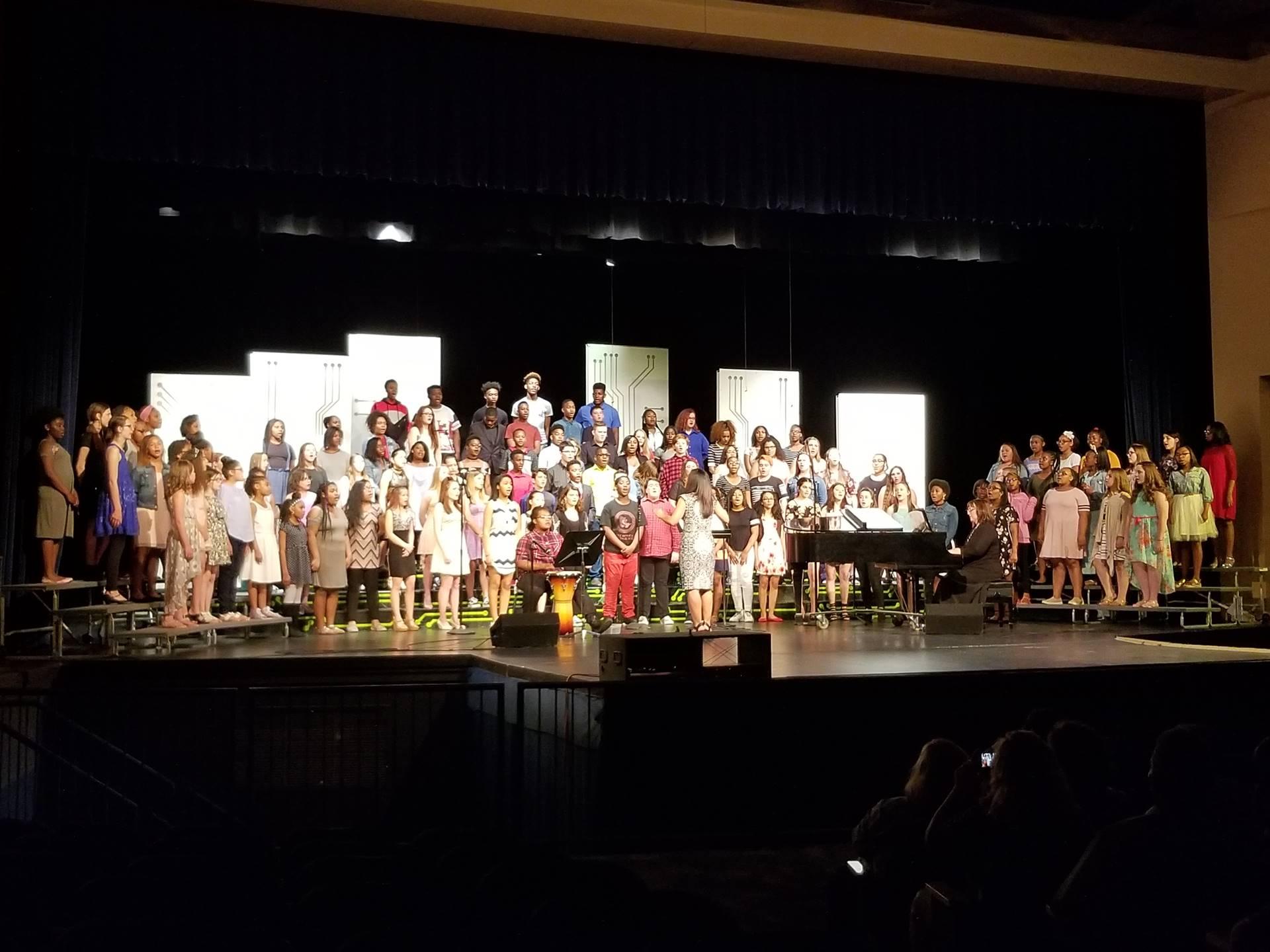 MS Spring Choir Concert