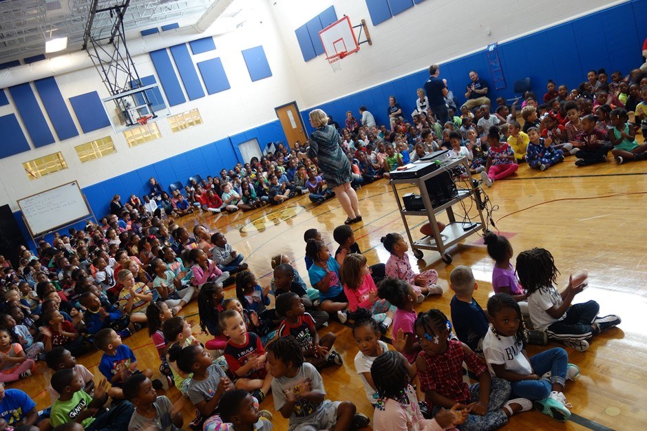 Elmwood School's September PAWS Assembly
