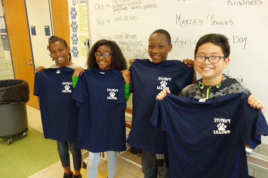New Student Leaders at Elmwood