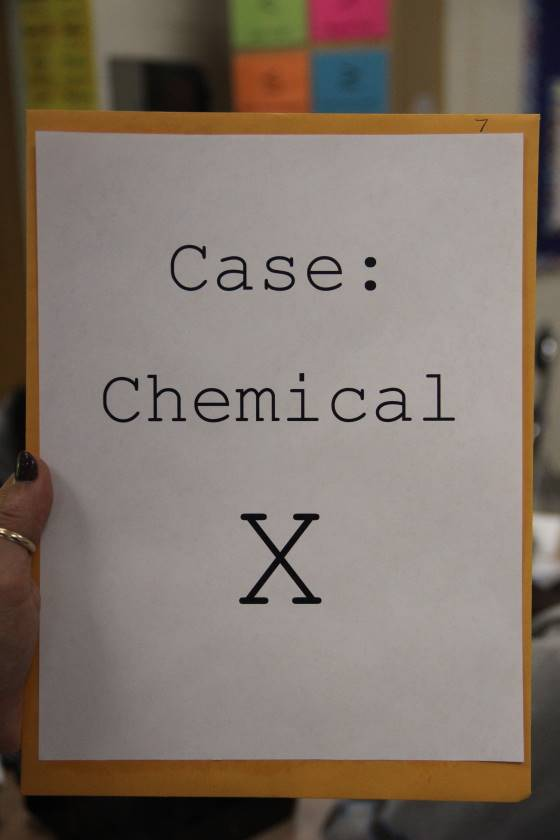 Case of Chemical X