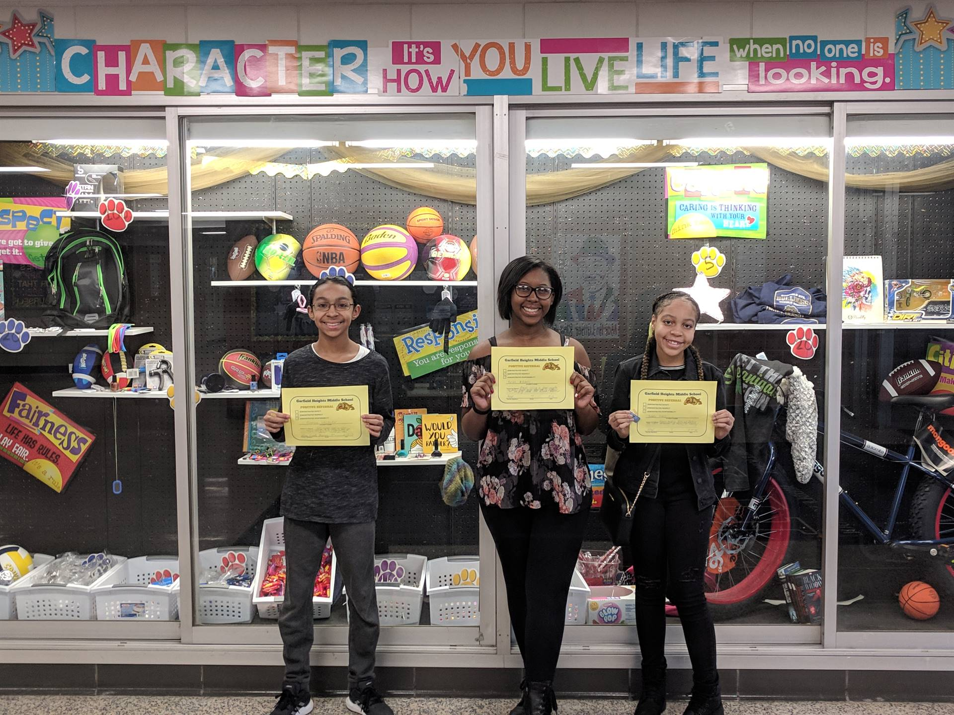 Students with Positive Referral Awards