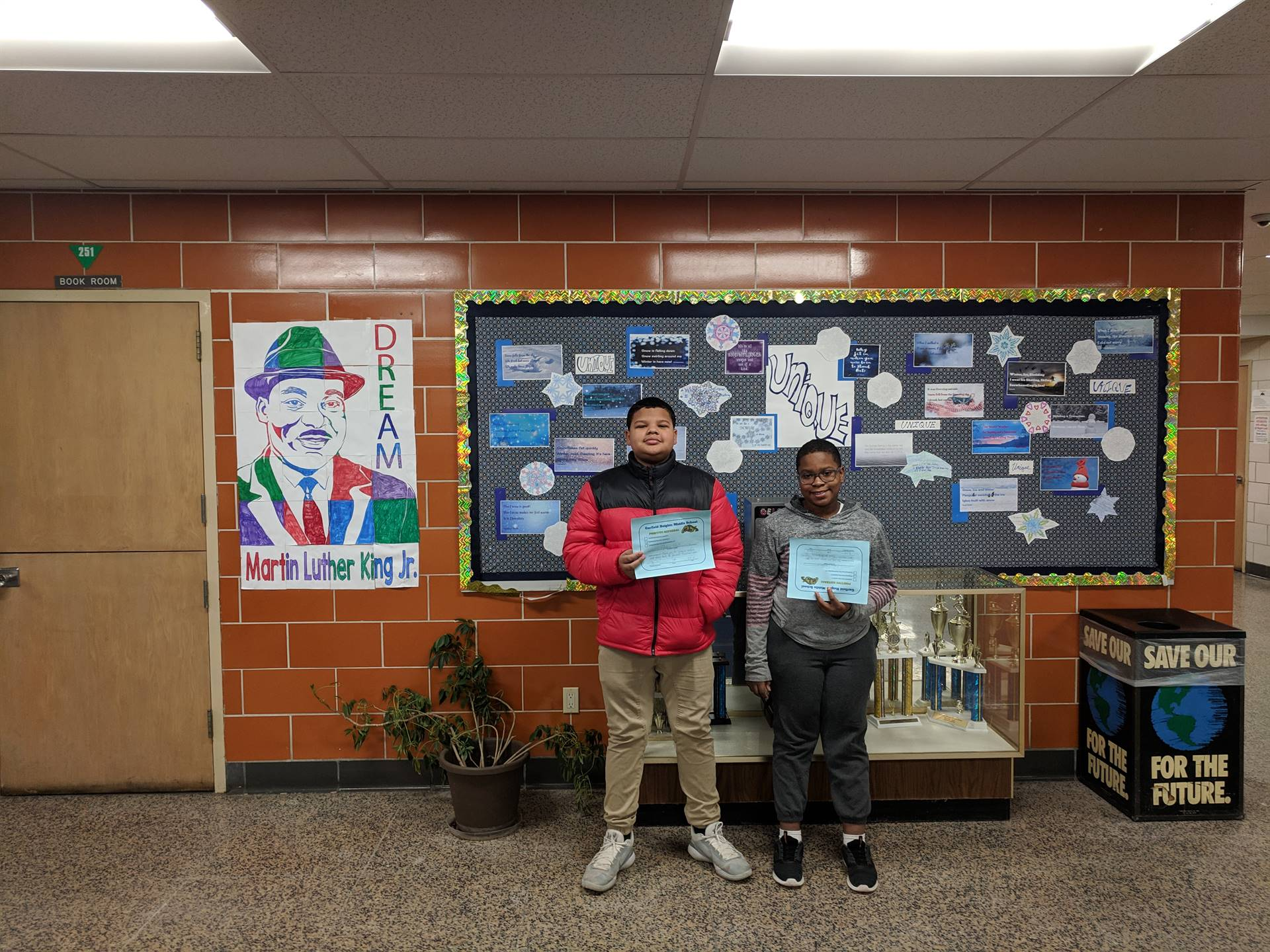 Two students with Positive Referrals