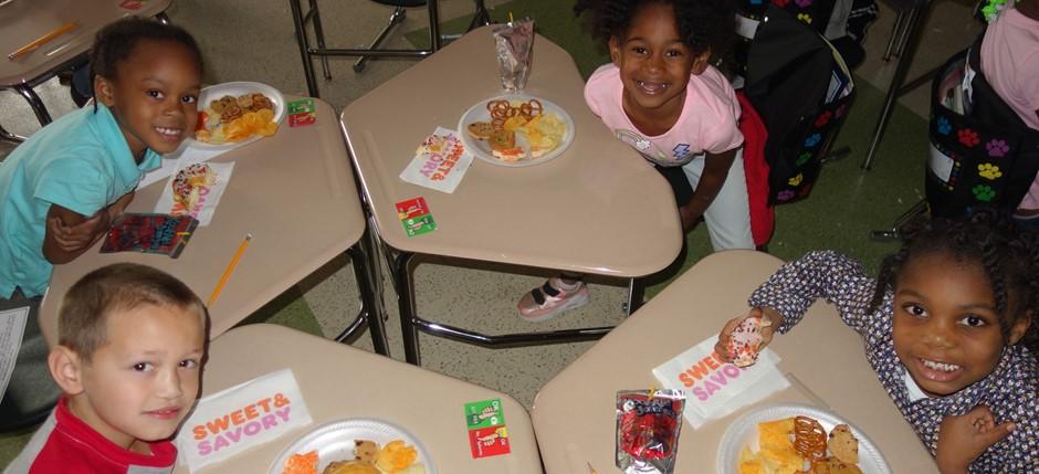 Celebrating in 1st grade