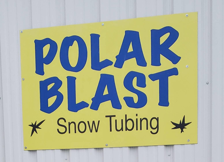 Polar Blast sign.